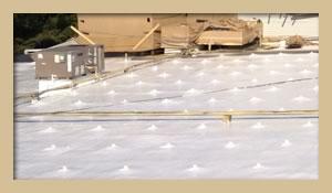 Spray Foam Roofing Project